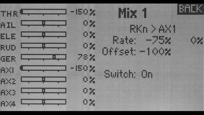 Demystifying RC Transmitter Mixing