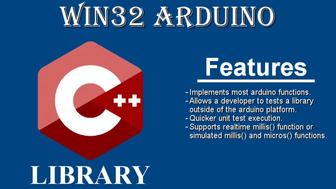 win32Arduino: a win32 library that implements most arduino