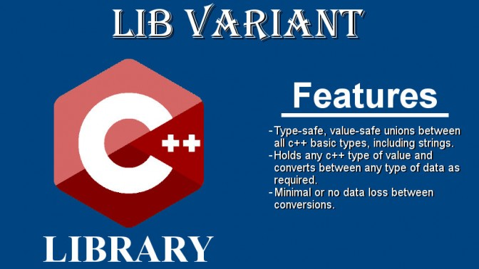 libvariant c++ library