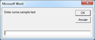 ListInstalledFonts - Sélection d'un exemple de texte