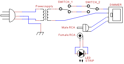 Bedroom Led Lighting Circuit