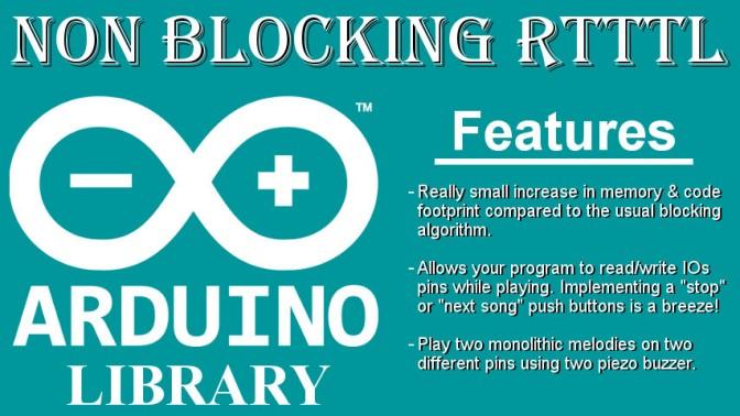 NonBlockingRTTTL – A non-blocking arduino library for