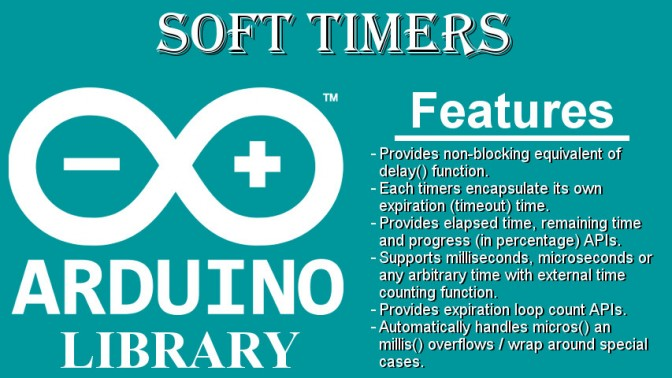 SoftTimers – A collection of software timers to easily